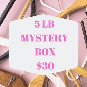 5 LB MYSTERY BOX 8-10 ITEMS